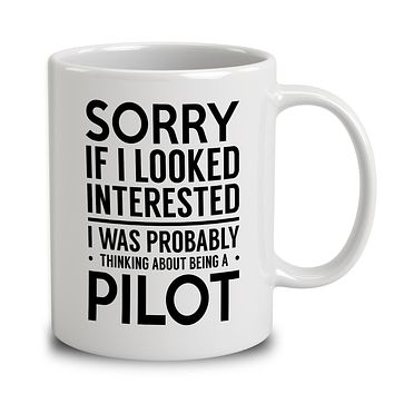 Probably Thinking About Being A Pilot