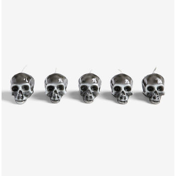 Memento Mori Mini Skull Candle Set