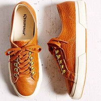 Superga X Man Repeller Cognac Bella Hiker Sneaker- Brown