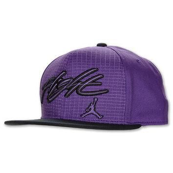 Jordan Retro Flight Snapback Hat