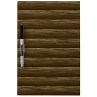 Log Wall 1. Wood Textures Pattern Dry Erase Whiteboard from Zazzle.com
