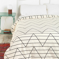 Urban Outfitters - Assembly Home Between The Lines Duvet Cover