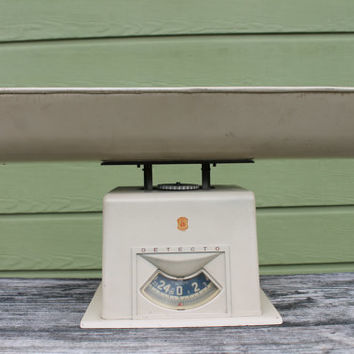 Vintage Detecto Baby Scale Great Photography Prop