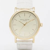 Daisy Dixon White Georgia Watch