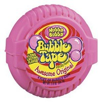 Hubba Bubba Awesome Original Bubble Tape Gum 6'
