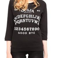 Ouija Pullover Top - 154772