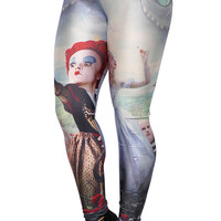 Alice in Wonderland Leggings Design 455