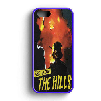 The Weeknd The Hills Cover Album iPhone 5 Case iPhone 5s Case iPhone 5c Case