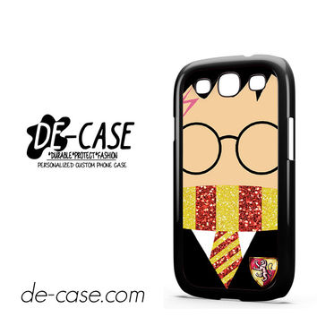 Harry Potter Sparkly Glitter For Samsung Galaxy S3 Case Phone Case Gift Present