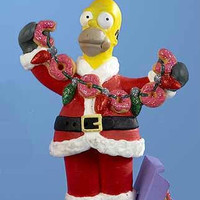 Simpsons Christmas Ornament - Officially Licensed