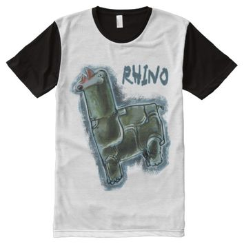 rhino All-Over print t-shirt