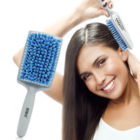 Microfiber Bristles Quick Absorbent Dry Comb Drying Hair Brushes Absorbent Care Combs Radiation Protection for Women