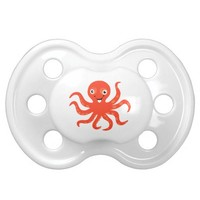 Happy Smiling Ocean Animals Octopus Pacifier