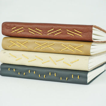 Leather Journal, Leather Notebook, Leather Sketchbook, Travel Journal, Valentine's Gift, Travelers notebook