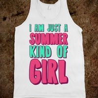 I am Just a Summer Kind of Girl