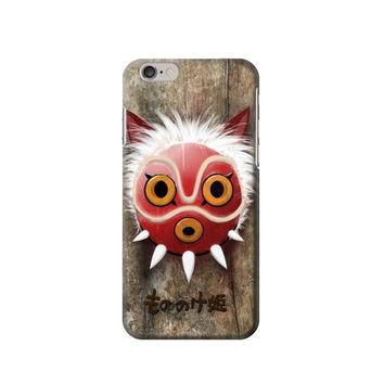 P2395 Princess Mononoke San Mask Phone Case For IPHONE 6S