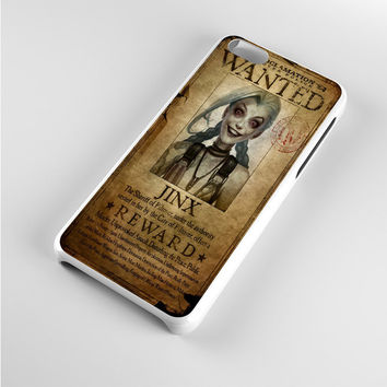 League of Legend Jinx Wanted iPhone 5c Case