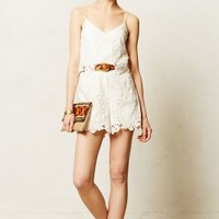 Tiered Lace Romper by Dolce Vita Ivory