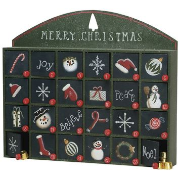 Countdown to Christmas Advent Calender
