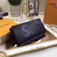 LV SUPREME EPI LEATHER WALLET