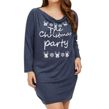 Christmas Autumn Causal Long Sleeve