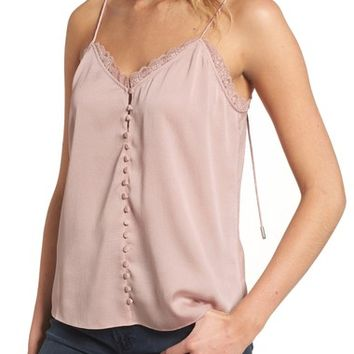 Chelsea28 Strappy Satin Camisole   Nordstrom