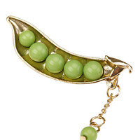Pretty Pea Brooch Pin