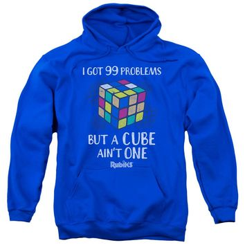 Rubik's Cube - 99 Problems Adult Pull Over Hoodie