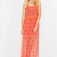 Rajasthani Sunset Maxi