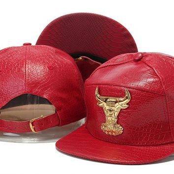 Chicago Bulls Cap Snapback Hat - Ready Stock