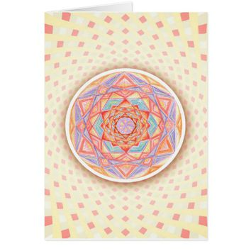 Portals Rangoli Design Indian Art Card
