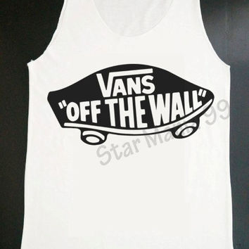 VANS Shirts Hipster Tank VANS Off The Wall T Shirts by StarMania99