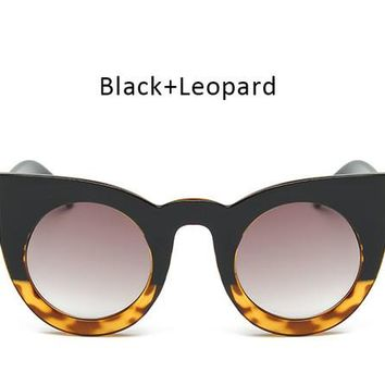 Cat Eye Sunglasses Big Frame Sun Glasses For Ladies