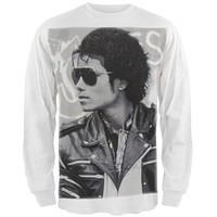 Michael Jackson - Classic Photo Long Sleeve T-Shirt