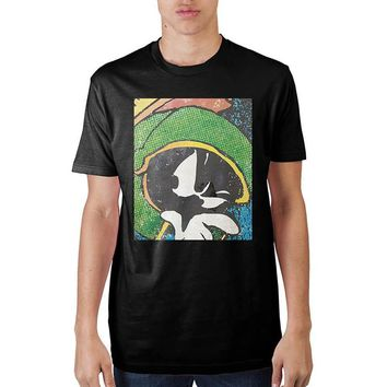 Looney Tunes Marvin Black T-Shirt