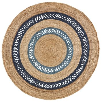 Jaipur Living Spiral SPI04 Blue Borders Area Rug