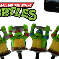 Strapya World : Teenage Mutant Ninja Turtles Earphone Jack Accessory (Leonardo)