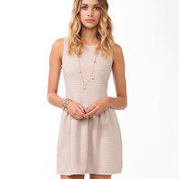 Essential Matelasse Skater Dress