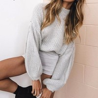 Vintage Loose Sweater