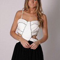 Esther Boutique - lagoon cocktail- ivory