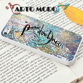 Design Panic At The Disco Lyric Quotes - iPhone 4/4S Case, iPhone 5/5S Case, iPhone 5C Case and Samsung Galaxy S3 i9300 Case, S4 i9500 Case.