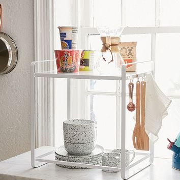Yamazaki Expandable Tower Shelf | Urban Outfitters
