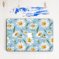 Camomile Macbook Pro 13 Hard Case Flowers Macbook Pro Case 15 Macbook Pro 13 Inch Case Laptop Florals Macbook Case Pro 13 Macbook 12 Inch