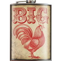 Big Rooster Stainless Steel Flask