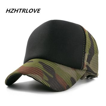 Trendy Winter Jacket High Quality Cotton Army Baseball Cap Camouflage Mesh Hat Cap For Men Women Composite Material Cap Casual Sports Dad Hats AT_92_12