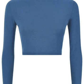 The Turtle Neck - Blue