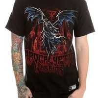 WWE Undertaker Apocalyptic Warrior T-Shirt 3XL Size : XXX-Large