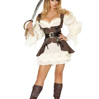 4PC Naughty Ship Wench Costume