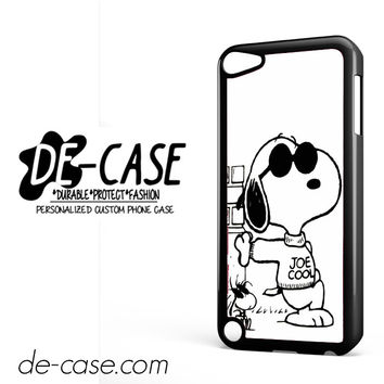 Snoopy Joe Cool DEAL-9766 Apple Phonecase Cover For Ipod Touch 5