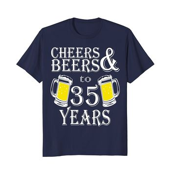 35th Birthday Vintage Made in 1983 Gift ideas Man T shirt